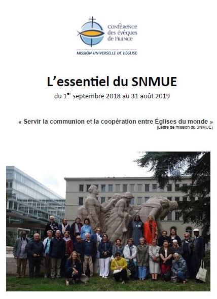 Essentiel SNMUE 2018 2019