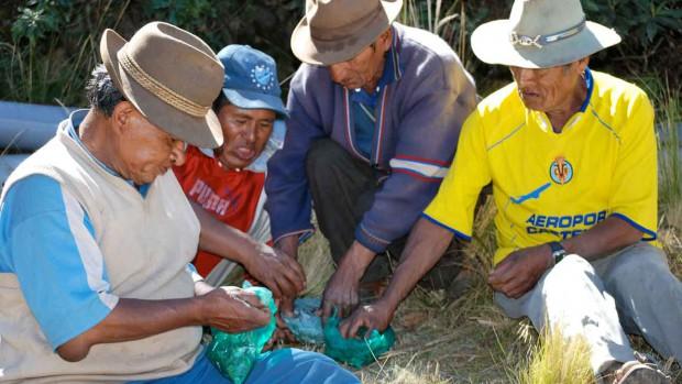 6-PhotoPaysans Indiens en Bolivie