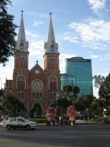 Cathédrale de Ho Chi Minh Ville