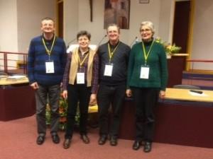 Nouveau conseil de la CORREF, élu le 12 novembre 2016
