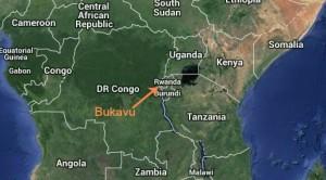 Carte Bukavu