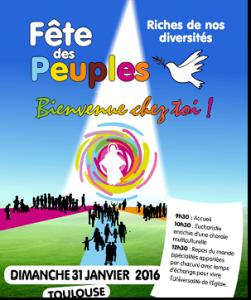 Fête des peuples Toulouse 2016 - Affiche