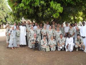 Délégation diocésaine pour le jubilé des 70 ans de l'évangélisation de l'Atacora