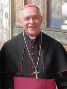 Mgr Padron Sanchez, archevêque de Cumaná et président de la CEV