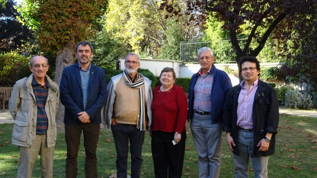 Pierre Chovet, Luc Lalire, Jean-Claude Seguin, Annie Josse, Antoine Sondag et Bernerdo Colmenares