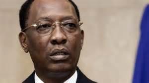 Idriss Déby, président du Tchad