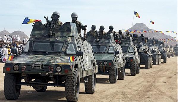 Armée tchadienne au Mali