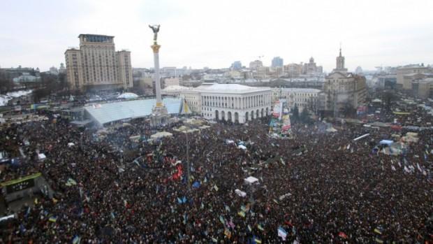 Place Maidan de Kiev