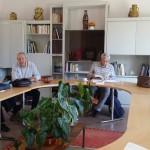 Séance de travail à Perpignan