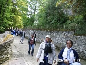 Lourdes 2017 Retour Grotte 2