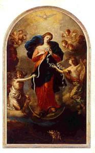 Marie, qui dénoue les nœuds