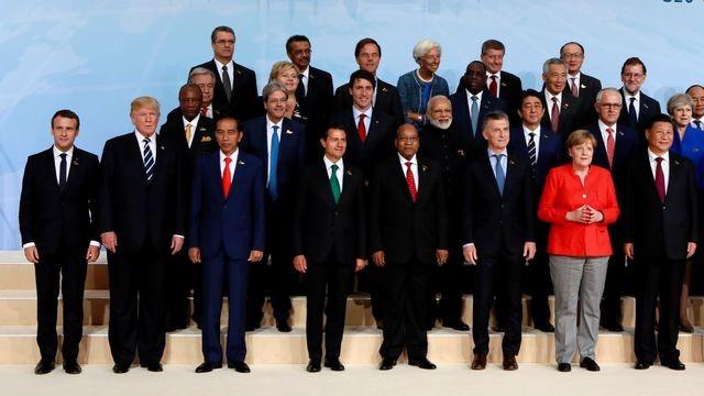 G20 Hambourg 2017