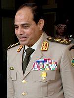 Le maréchal Abdel Fattah al-Sissi destitue Mohamed Morsi en 2013 (coup d'Etat militaire) et devient président en 2014.