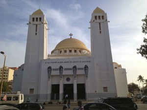Dione : cathédrale de Dakar