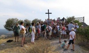 Vacances atypiques : prière lors de la session en Grèce de 2016