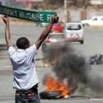 Manifestation au Zimbabwe