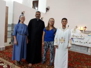 Témoignage d'Isabelle, en volontariat court en Egypte, avec l'Œuvre d'Orient
