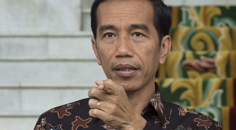 Joko Widodo, le président de l'Indonésie