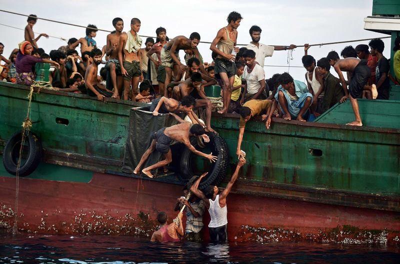 Journée Mondiale du Migrant et du réfugié - Migrants mer d'Andaman