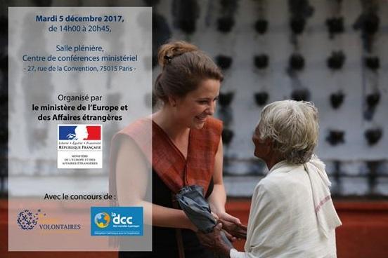 Affiche DCC Journée internationale des volontaires