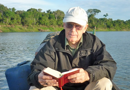 Dom Geraldo Verdier sur le fleuve