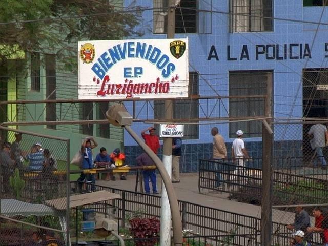 Prison Lima - Photo de la prison de San Juan de Lurigancho