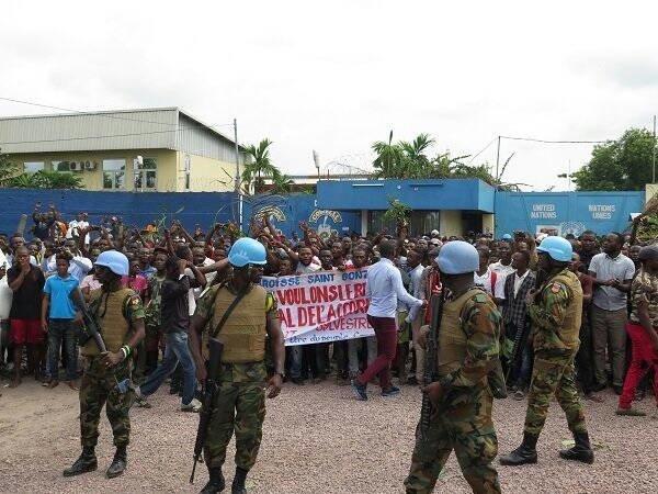 Paix en République Démocratique du Congo - Manif janvier 2018