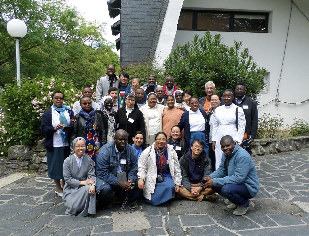 Prêtres venant d'ailleurs. Session Échange. Lourdes, mai 2017