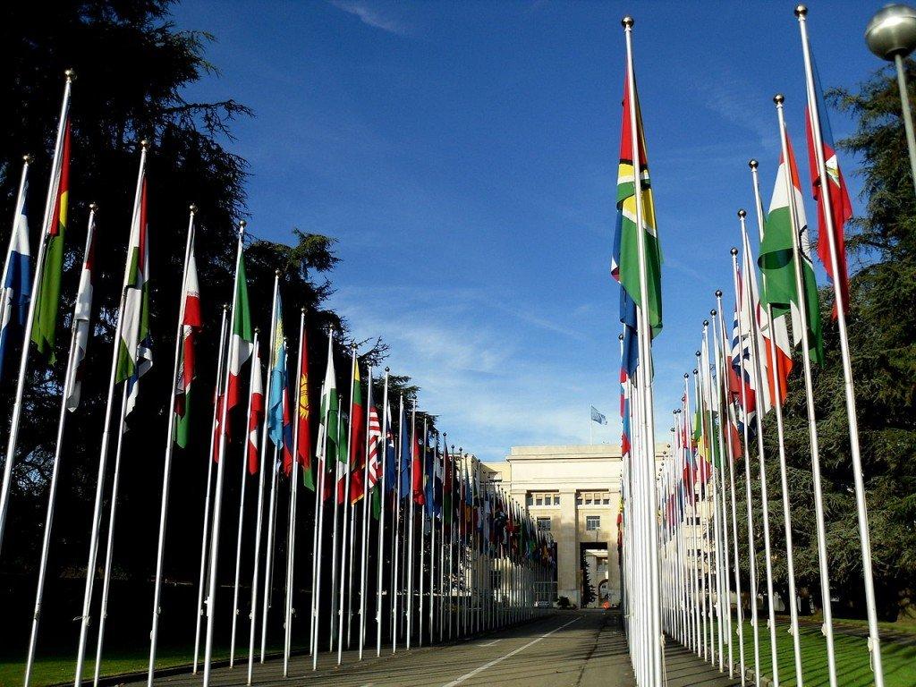 Genève catholique. Palais des Nations à Genève