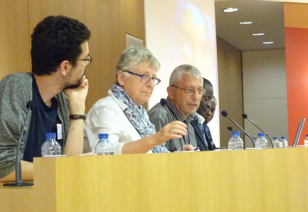 Journée Afrique 2018 : les textes. Laurent Duarte, Maria Biedrawa , P. Antoine Sondag, P. Joseph Tanga-Koti et P. Rigobert Minani