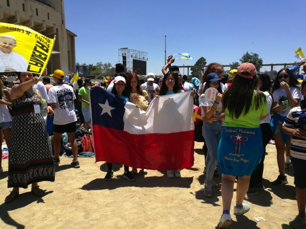 Le Pape François aux laïcs chiliens : « Sans vous, rien ne peut être fait »