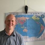 Johannes Varelmann lors de sa visite à la CEF en juillet 2018