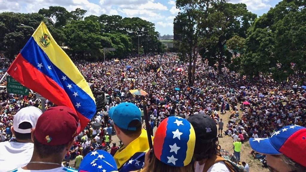 Marche de protestation au Venezuela