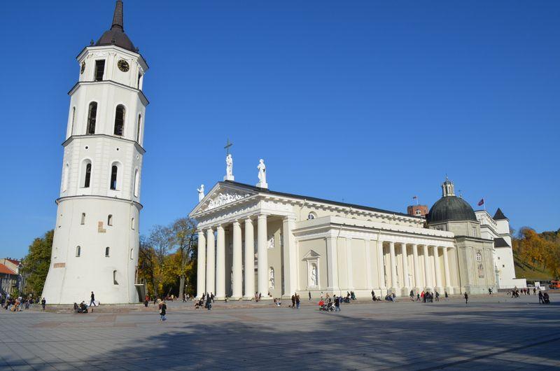 L'Eglise catholique en Lituanie. Cathédrale de Vilnius, Lituanie