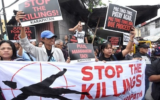 Philippines protestation exécution extra judiciaires