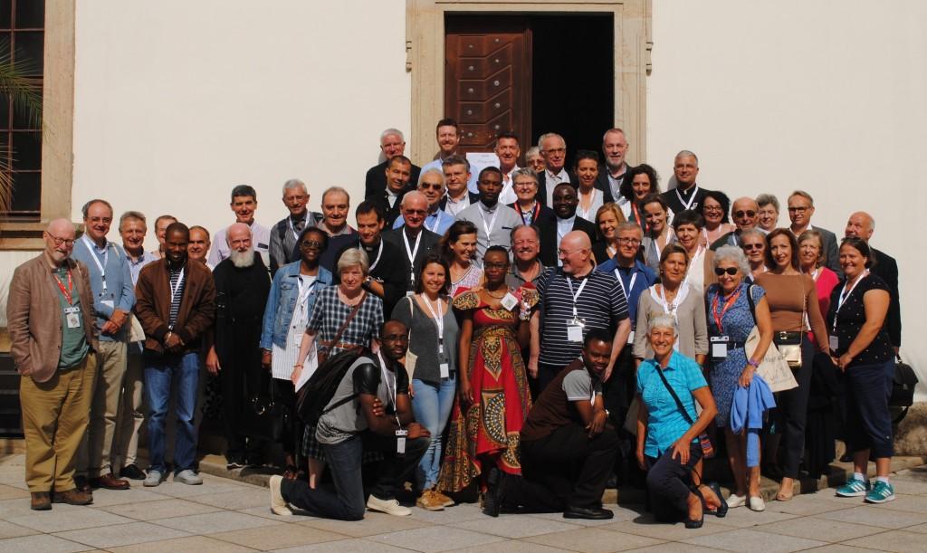 Journées pastorales des CCFM. Prague, 2018. Les participants