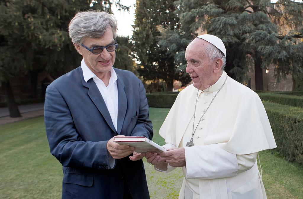 film de Wim Wenders - Wim Wenders et le Pape François
