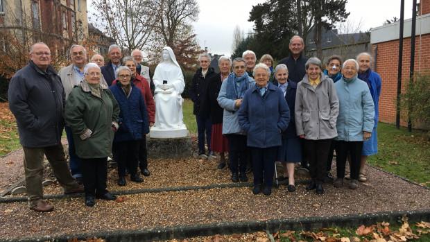 Les participants de la session Bienvenue, Lisieux, novembre 2018