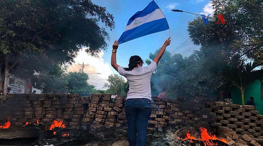 Nicaragua condamnation par l'Organisation des États américains ? Nicaragua_Manifestation_janvier2018