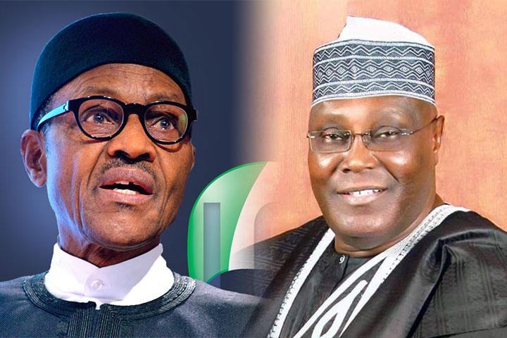 Nigeria : pour « des élections pacifiques, libres, justes et crédibles » . Le président sortant Muhammadu Buhari et son principal adversaire Atiku Abubaka.