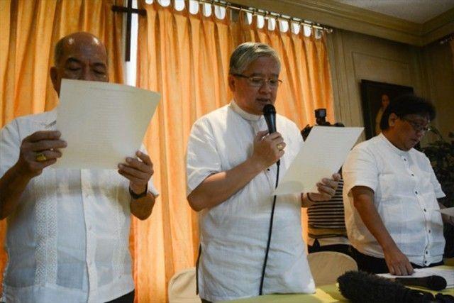 Lettre de la Conférence des Évêques des Philippines : Surmonter le mal par le bien. Mgr Romulo Valles lit la déclaration des évêques !