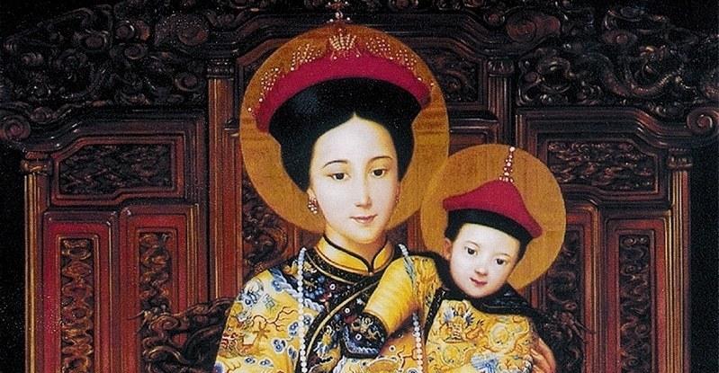 La religion en Chine. Notre Dame de Sheshen