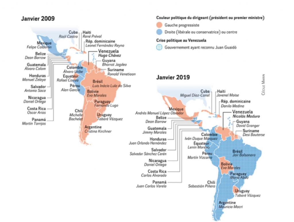 Journée Amérique Latine 2019 contributions. Situation politique en Amérique latine Démocraties en péril : analyse, résistances et mobilisations