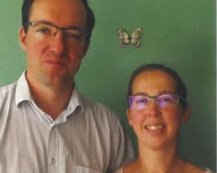 2019.11.20_Celine&Gaetan-Marion. Gaëtan et Céline, délégués diocésains à la Mission universelle de l'Église.