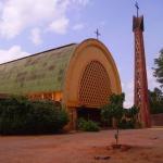 Cathédrale de Bobo Dioulasso, au Burkina FAsso