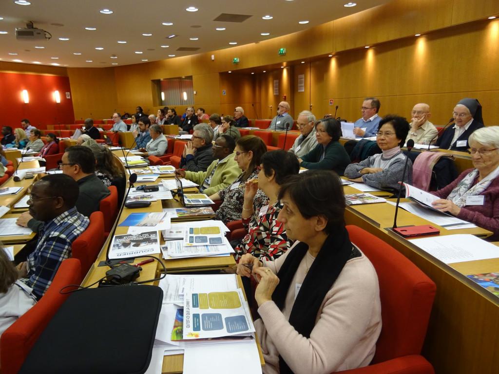 Week-end des DDMU 2020. Rencontre des délégués diocésains à la Mission universelle de janvier 2019.