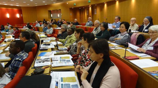 Rencontre des délégués diocésains à la Mission universelle de janvier 2019.