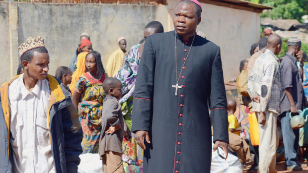 Le Cardinal de Bangui, Mgr Dieudonné Nzapalainga
