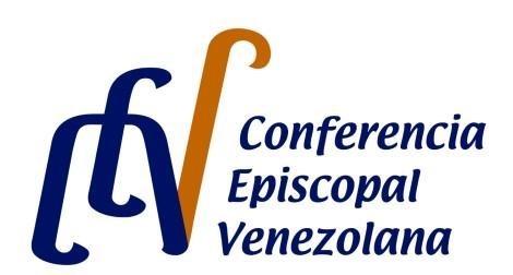 Écouter cri du peuple vénézuélien. Logo de la conférence épiscopale du Venezuela.