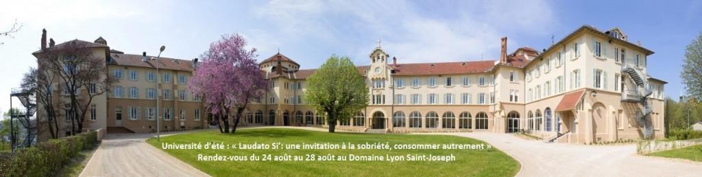 Domaine Saint-Joseph. Université d'été 2020
